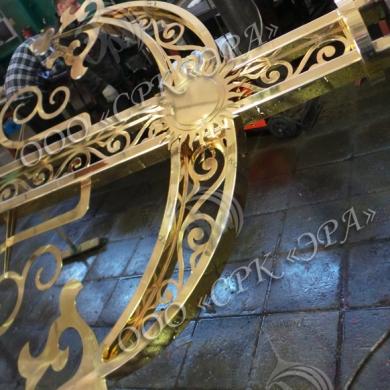 Гальваническое золочение крестов в РК «ЭРА»