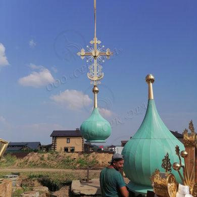 Изготовление куполов компанией ЭРА