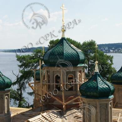 Изготовление куполов и крестов для Собора Рождества Богородицы в Свято-Троицком Ипатьевском мужском монастыре (г. Кострома)